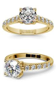 Gold Diamond Wedding Rings by 135 Best Gold Engagement Rings Images On Pinterest Engagement