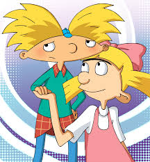 arnold and helga is love by voodoodollmaster deviantart com on
