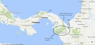 Panama World Map by Panama Steeling Away