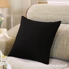 coussin de bureau oreiller 50x50cm carré oreiller moderne coussins de canapé lit
