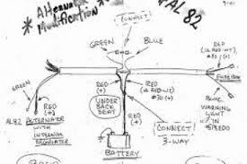 chevy 3 wire alternator diagram u0026 one wire alternator