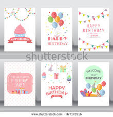 many stock birthday party invitation card vector creation birthday invitation girl stock images royalty free images