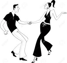 a couple dancing tango cartoon clipart vector toons disco clipart dance competition pencil and in color disco