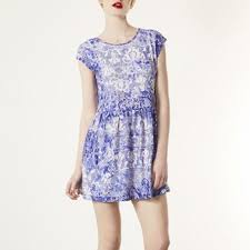 topshop dress topshop topshop blue china lace dress from emily s closet on