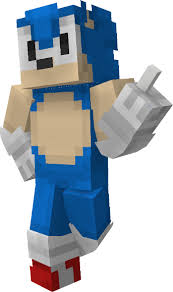 Sonic The Hedgehog Papercraft - classic sonic the hedgehog minecraft skin