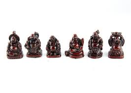mini buddha figurines set of 5 rb2 home kitchen