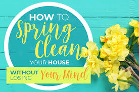 how to spring clean your house how to spring clean your house without losing your mind oxyfresh