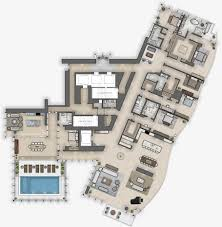 grand floor plans the grand penthouse at waiea ward village