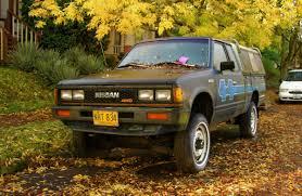 nissan datsun 1984 old parked cars 1984 datsun nissan 720 pickup