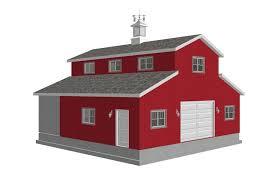 Cabin Garage Plans 36 X 36 U2013 10 U2032 Sides Garage Plan Cabin Plans