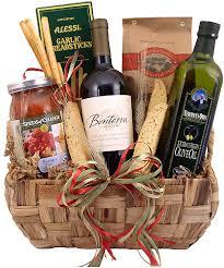 wine gift baskets ideas italian wine gift baskets