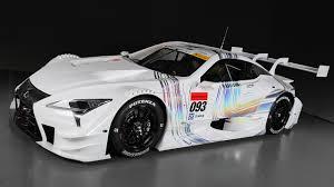 lexus japan toyota lexus anoints new lc 500 as its super gt racer