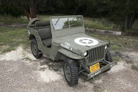 first willys jeep from world war ii to today a veteran and his restored jeep wsj