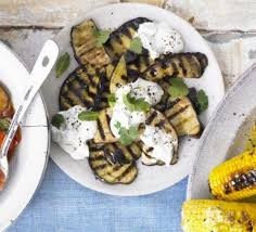 cuisine aubergines griddled aubergines with sesame dressing recipe food