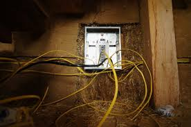 electrical wiring in a straw bale house the year of mud