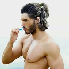 guy ponytail hairstyles the new man bun the half ponytail for men