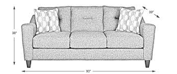 Standard Size Of A Sofa Size Of A Sofa Rooms