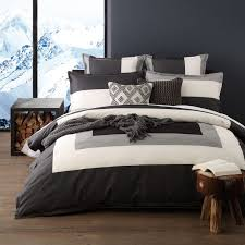 howling madden grey quilt cover set by logan mason ultima bed