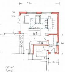 how to plan layout of kitchen kitchen diner living layout plans advice please