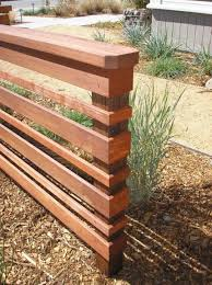 mesmerizing modern horizontal fence 150 modern fences horizontal