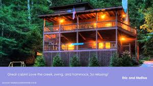 Vacation Cabin Rentals In Atlanta Ga Blue Sky Cabin Rentals Review East Ellijay Georgia Youtube