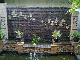 home decor waterfalls new outdoor brick wall decorating ideas 81 for country home decor