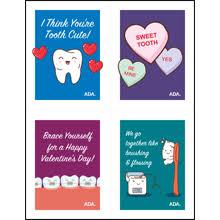 valentine s free valentine s day cards american dental association