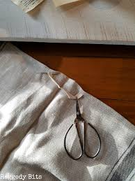 under 10 farmhouse table runner with ikea tea towels raggedy bits