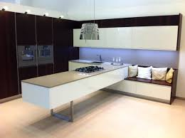 floating kitchen island with built in sofa house pinterest