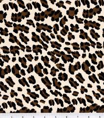 Fabric Halloween by Halloween Spirit Collection Cheetah Costume Suede Sewing