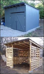 how to build a shed from repurposed pallets a shed is almost