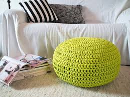 Lime Green Ottoman Lime Green Ottoman Awesome Furniture Stunning Pouf Pertaining To 8
