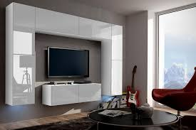White Gloss Living Room Furniture Uk Wall Unit Concept 3 Furniture