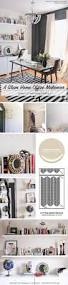 Glam Home Furniture A Glam Home Office Makeover Using Stencils Stencil Stories