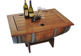Wine Barrel Rocking Chair Plans Napa East Wine Barrel Coffee Table Live Well Stores