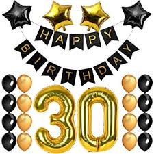 balloons for men 30th birthday decorations 30th birthday party supplies