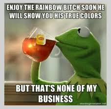 Taste The Rainbow Meme - are you basics ready to taste the rainbow shady and petty