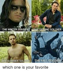 Winter Soldier Meme - the winter soldier spring soldier buckysdefencesquad the summer