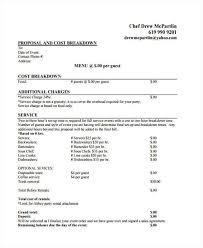 catering proposal template event catering proposal 6 catering