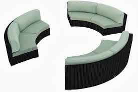 elegant curved outdoor furniture sofa architecture nice