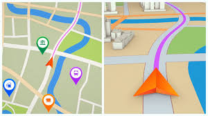 Navigation Map Gps Navigation Concept Arrow Moving Forward On A Map Seamless