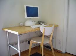 cheap modern computer desk design but nice as decoration concept