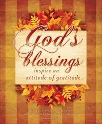 premium thanksgiving bulletin god s blessings