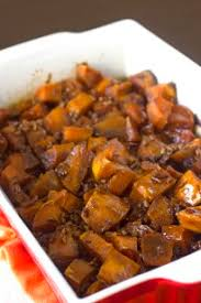 candied yams recipe brown sugar