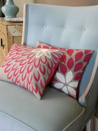 easy to sew pillows hgtv