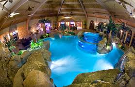 swimming room amazing tropical indoor pool with river