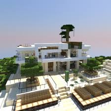 house style modern house style of keralis minecraft project