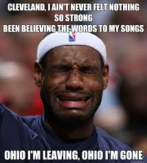 Cleveland Meme - cleveland i ain t never felt nothing so strong been believing the