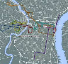 Patco Map Maps Circulator Routes To Improve Septa Bus Service U0026 Ridership