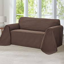 Couch Slipcovers Decorating Sure Fit Dark Brown Couch Slipcovers Cheap For Couch